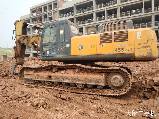 现代 R455LC-7 挖掘机